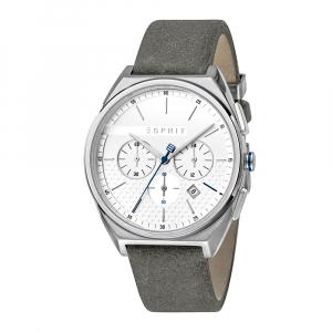 Esprit ES1G062L0015 Slice Chrono Silver Grey Herrenuhr Chronograph