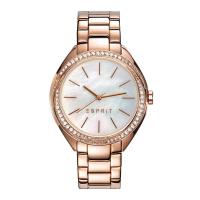 Esprit ES109302003 Stone Jet Rosegold Ladies Watch