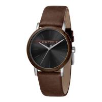 Esprit ES1G030L0025 Plywood Black Brown Herrenuhr