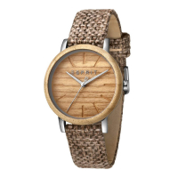 Esprit ES1L030L0025 Plywood Brown Canvas Ladies Watch
