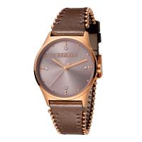 Esprit ES1L032L0045 Drops 01 Pink Dark Brown Ladies Watch