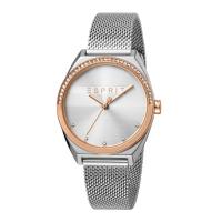 Esprit ES1L057M0085 Slice Glam Rose Silver Mesh Ladies Watch