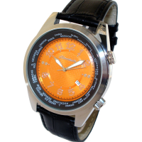 HEINRICHSSOHN Danzig Orange HS1003O Herrenuhr