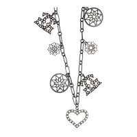 Guess Ladies Necklace UFN90701
