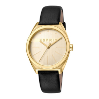 Esprit ES1L056L0025 Slice Gold Black Ladies Watch