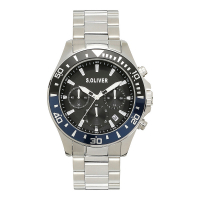 s.Oliver SO-4237-MC Mens Watch Chronograph