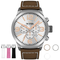 TW Steel Marc Coblen Edition TWMC32 Mens Watch Chronograph